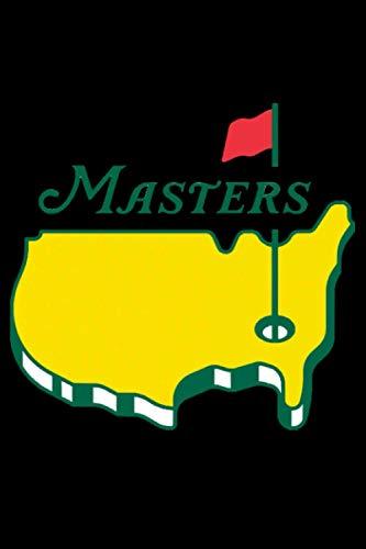 Notebook masters golf pga: masters golf pga password log book and internet password organizer, alphabetical password book, Logbook To Protect ... golf pga gift, notebook, password book small