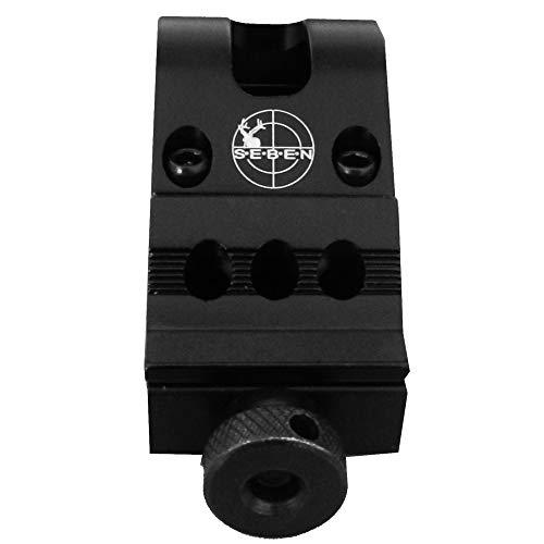 """Seben Zielfernrohr 45° Zubehör Montage 25,4mm (1"""") 21mm Weaver Picatinny RSM08"""