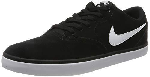 Nike Herren SB Check Solarsoft Skateboardschuhe, Schwarz (Black/White 001), 45 EU
