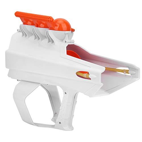 Ufolet Fabricante de Bolas de Nieve, Pistola lanzadora de Bolas de Nieve, 2 en 1 Adultos para niños((White))