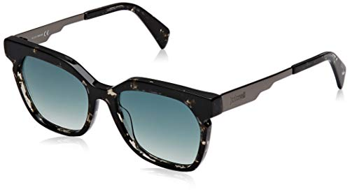 Just Cavalli JC871S Gafas de sol, Verde (Black/Other/Gradient Green), 54.0 para Mujer