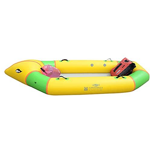 ZXQZ Kayak Kayak Inflable, Botes Inflables para Adultos, Canoa Inflable Resistente del PVC Plegable del Bote con La Paleta para La Pesca, El Buceo