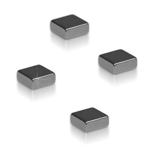 8er Set Neodym Magnete von Master of Boards® | für Glas-Magnetboards Magnettafeln Kühlschränke | stark haftend | 8 Stück Kühlschrankmagnete