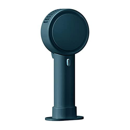 LBHH Ventilador de Mano Mini Ventilador de Mano USB con 2000mAh Batería Recargable Hand Fan con Base Extraíble y Soporte paraAjustable 3 Velocidades portátil Eléctrico Ventilador para el Oficina