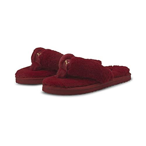 Puma Fluff Flip Bx, Chanclas Mujer, Persian Red, 40.5 EU
