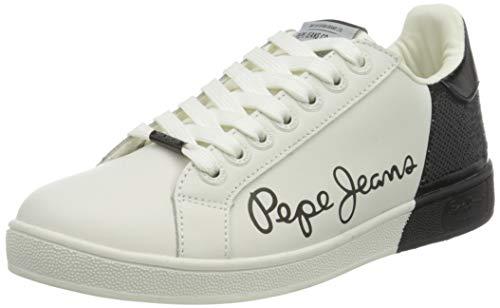 Pepe Jeans London Brompton Dual, Zapatillas Mujer, 999black, 41 EU