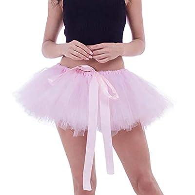 Women Tulle Skirt, Classic Pleated Gauze Short ...