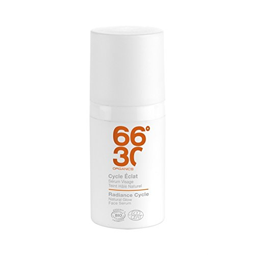 66°30 Radiance Cycle Natural Glow Face Serum, 1er Pack (1 x 30 ml)