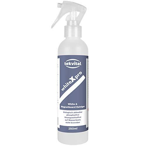 WhiteXpro - Whiteboard Reiniger Intensiv Cleaner - Biologisch abbaubar und phosphatfrei | 250 ml