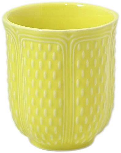 Gobelet à thé 27 cl Jaune Citron - Faïence de Gien