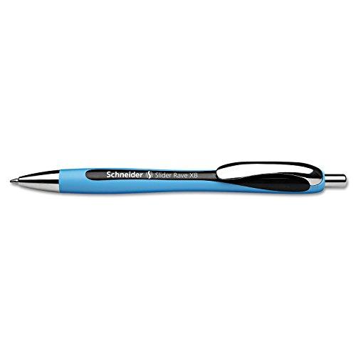 Stride Schneider Rave XB Retractable Ballpoint Pen, 1.4mm, Blue Ink (132503) Photo #2