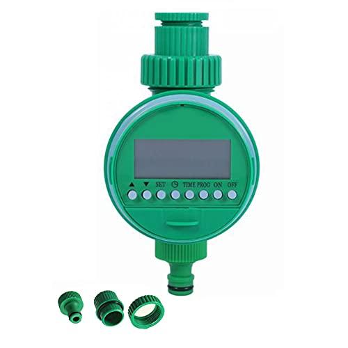 MKNZOME Irrigatore Giardino Timer, Timer da Irrigazione, Programmatore per Irrigation Batteria Giardino Computer irrigazione,Automatico Controllo Manuale per Fiori da Giardino, Prato, Terrazzo