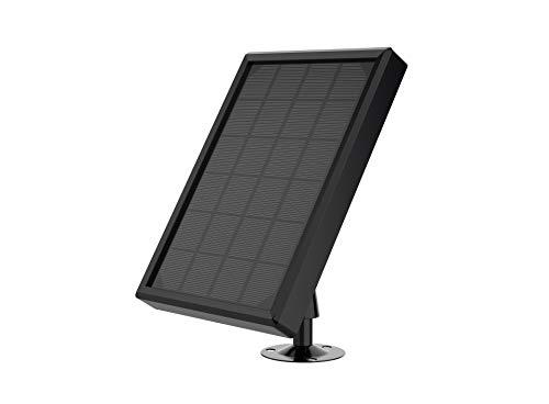SANNCE Solarpanel für WLAN Outdoor Akku IP Kameras, wetterfest, einstellbare Halterung, unterbrechungsfreie Energieversorgung