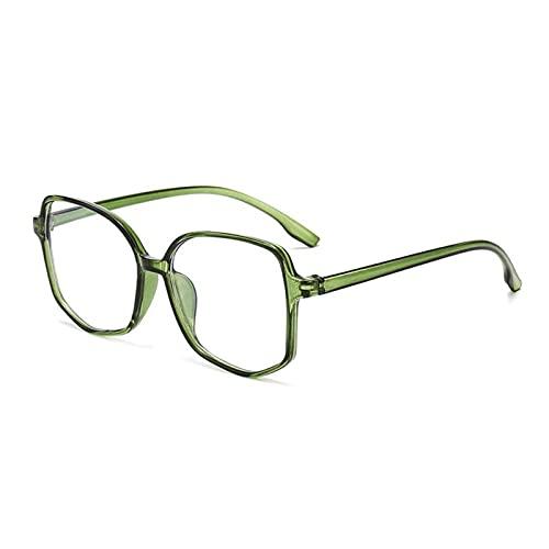 BAYSU Gafas de Sol Chic Anti Azul Protección de Luz Mujeres Gafas Redonda Marco Moda Cuadrado Irregular Espejo Plano Gafas de Sol Gafas de Sol (Lenses Color : 04)