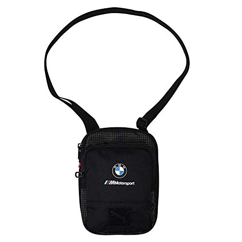 Puma BMW Motorsport Large Portable Black Crossbody Bag 076669-001