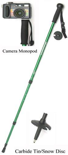 Hammers Multi-purpose Anti-shock Hiking Trekking Stick Pole Camera Monopod