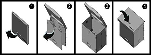 anytime Box – faltbarer Paketkasten aus Stahl - 7