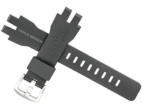 CASIO - Correa para reloj Casio PRG-300 PRG 300 PRW-3100 PRW 3100, color negro