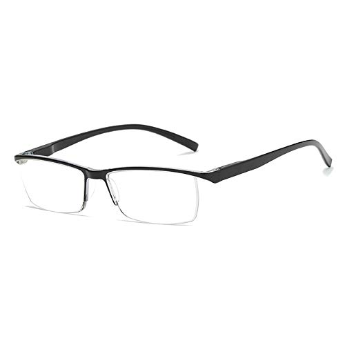 GEMSeven Halbrand Pc Lesebrille Halbrand Leichte Brillen Für Männer Frauen Presbyopie