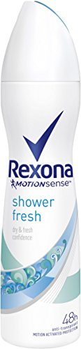 Rexona Deospray Shower Fresh Anti-Transpirant, 6er Pack (6x 150 ml)