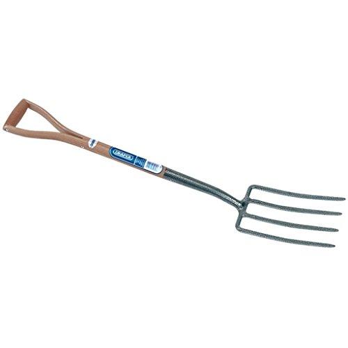 Draper 14301 Carbon Steel Garden Fork with Ash Handle