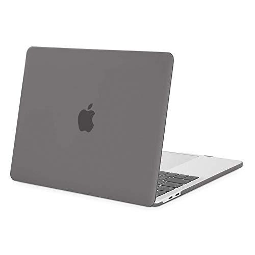 MOSISO MacBook Pro 13 polegadas 2020 2019 2018 2017 2016 versão A2289 A2251 A2159 A1989 A1706 A1708, capa rígida de plástico compatível com MacBook Pro 13 polegadas com/sem Touch Bar, cinza