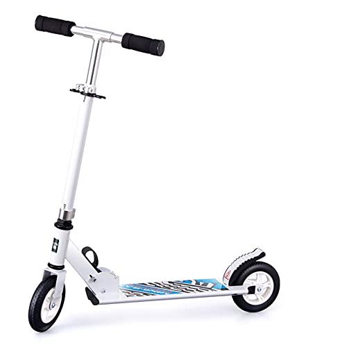 Patinete de dos ruedas adecuado para niños de 5 a 14 años,...