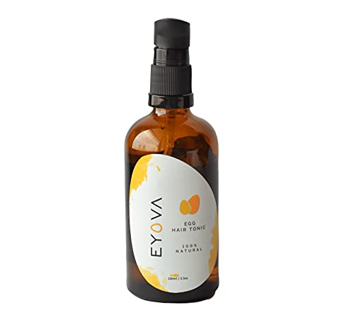 Eyova Natural Egg Oil for Hair   Cold Pressed with...