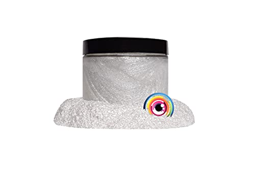 """Mica Powder Pigment """"Frost White"""" (50g) Multipurpose DIY Arts and Crafts Additive 