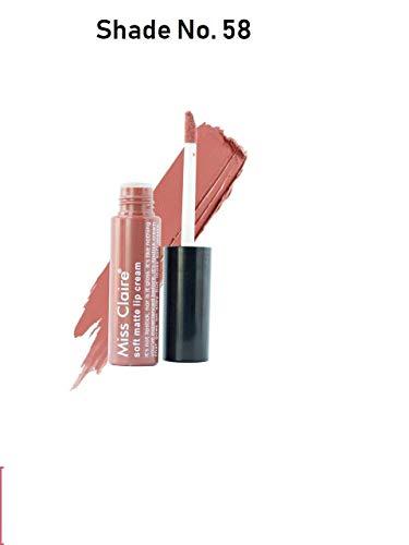 Miss Claire Soft Matte Lip Cream, 58 Pink, 6 g