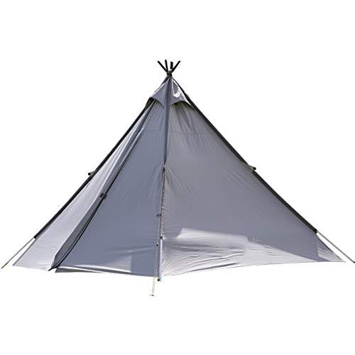 ZSP Carpas Forma piramidal Carpa 3 Persona con la Puerta del Acoplamiento Fácil de configurar UV40 Impermeable, Tienda de campaña inmediata de la Familia al Aire Libre Senderismo Tienda al Aire Libre