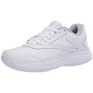 Reebok Men's Walk Ultra 7 DMX MAX Shoe, White/Cold Grey/Collegiate Royal, 10 2E US