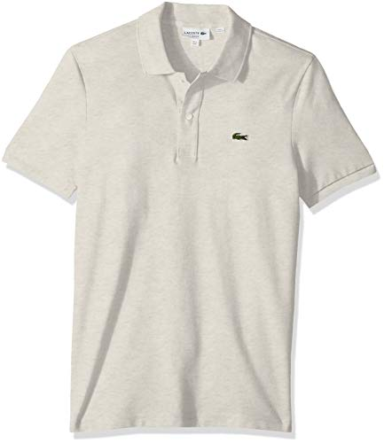 Lacoste Mens Classic Pique Slim Fit Short Sleeve Polo Shirt