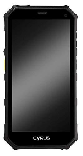 Cyrus CS24 WORK Outdoor Smartphone, 5000 mAH Akku, Android 7.0 Nougat, 5 Zoll, 16 GB, Dual SIM, 13 MP Kamera, stoßfest, staubdicht, wasserdicht, schwarz