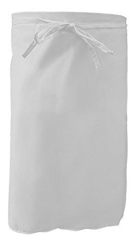 Grevotex Kochschürze 70x100 cm weiß Küchenschürze Bistroschürze Vorbinder