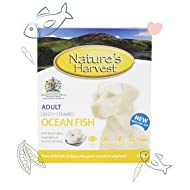 Natures Harvest Natural Complete Wet Dog Food – Ocean Fish and Brown Rice Wet Dog Food for Fussy Eat...