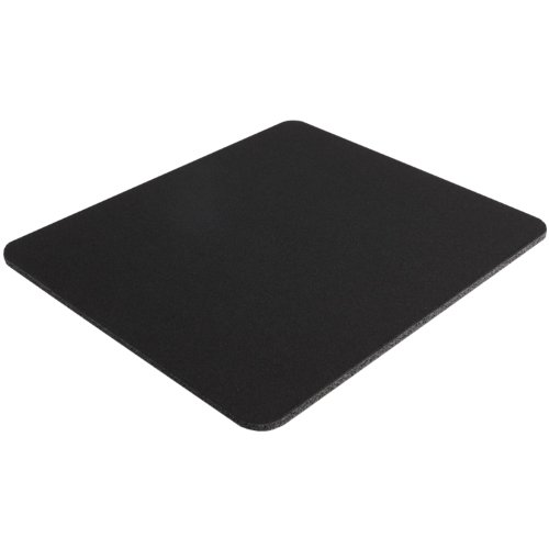 Belkin Standard 8Inch by 9Inch Computer Mouse Pad with Neoprene Backing and Jersey Surface Black F8E089BLK