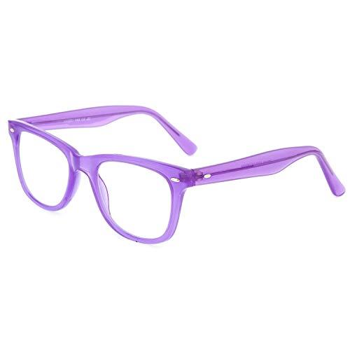 DIDINSKY Gafas de lectura graduadas para hombre y mujer transparentes. Gafas de presbicia para hombre y mujer para vista cansada. 8 colores y 5 graduaciones – GETTY