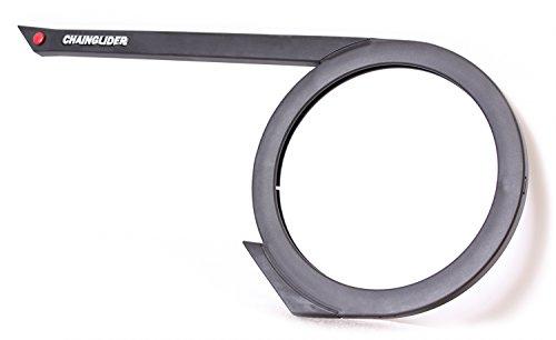 Hebie Unisex– Erwachsene Kettenschutz-2081211900 Kettenschutz, schwarz, One Size