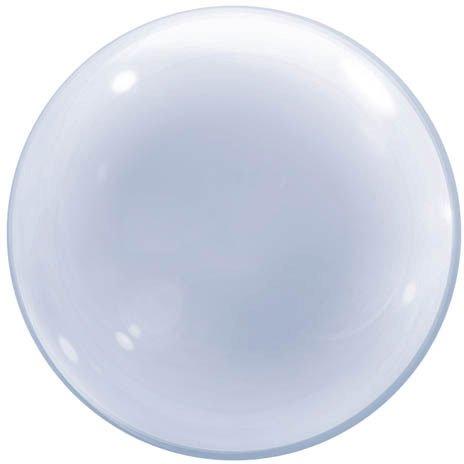 Qualatex 68825 61 cm durchsichtiger Deko-Luftballon 01 ct