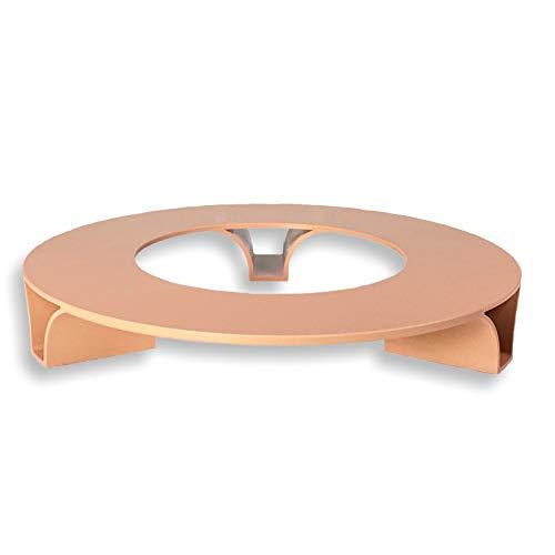 terraced® - Blumentopf Untersetzer - Farbe: Terrakotta - Rund - 27cm Durchmesser – Untersetzer Blumentopf – Recycling Material - Made in Germany