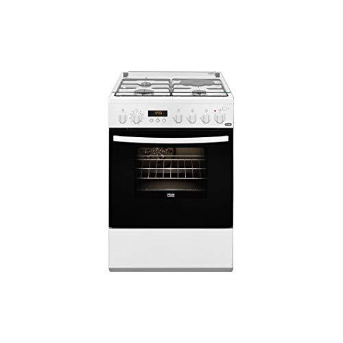 classement un comparer Faure FCM656HPWA Cuisinière à Gaz-Blanc-Classe Énergie A / Gaz + Cuisinière / Four électrique…
