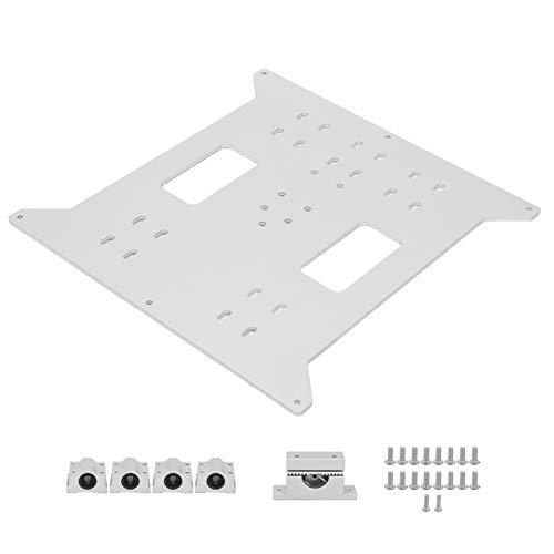 Y-Axis Hot Bed Supporto Piastra Leggero Letto Caldo Piastra di Alluminio Letto Caldo Piastra di Supporto Aggiornato Piastra di Alluminio per Wanhao Duplicatore i3/Anycubic i3 Mega