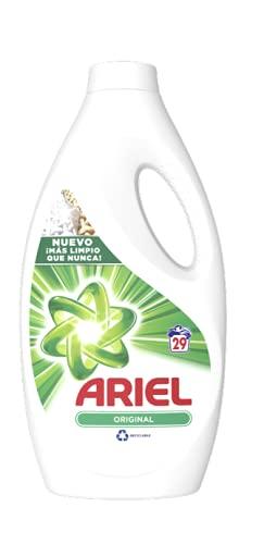 Ariel Liquido Regular, 29 lavados, 1595 ml, 1 unidad
