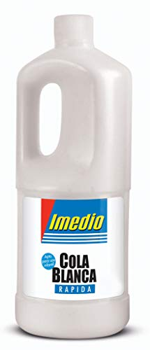 Imedio 6304598 - Pegamento, 1 kg, color blanco