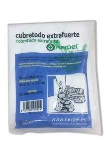 NERPEL - CUBRETODO EXTRA FUERTE 35 MICRAS 4X5 mts