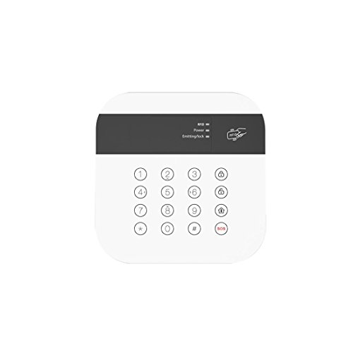 Safe2Home® Tastenfeld für Funk Alarmanlage Safe2Home SP110 / SP210 - GSM Alarmsytem - Bedienteil mit RFID Reader - Tastatur