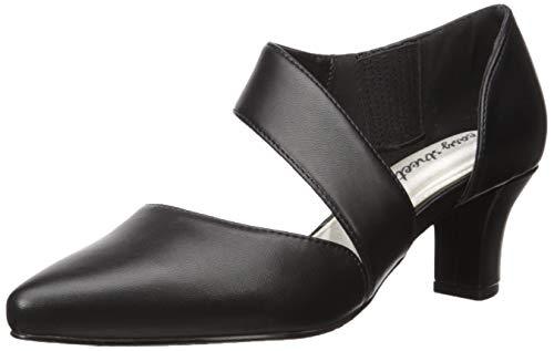 Easy Street Women s Dashing Dress Shoe Pump  Black  11 2W US