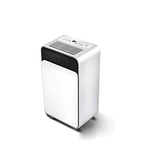 Qin Ultra Quiet Dehumidifiers,Timed Power On/timed Power Off,Quick Drying, Smart Touch Screen, Intelligent Humidity Control for Bedroom Bathroom Garage and Rooms Up to 1000 Sq. Ft.