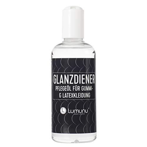 Deluxe Latexpflege Glanzdiener, Silikonöl als Pflegemittel & Politur für Gummi- und Latexkleidung (250ml), von Venize